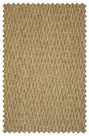 JAZ Tan Herringbone Wool-Cashmere Sportcoat #J10003