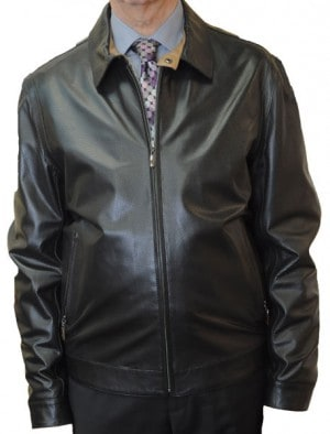 Marcello Sport Black Lambskin Jacket