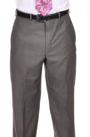 CALVIN Dark Grey Tick / Dot Pattern SLACKS J8Z0076