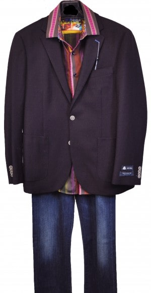 TailorByrd Patch Pocket Blazer
