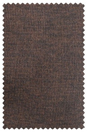 Franco Ponti Chocolate Brown V-Neck Sweater #K01-CHO