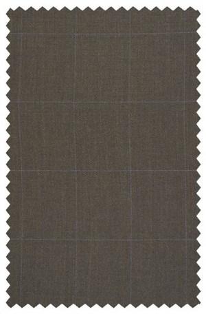 KORS Medium Brown Windowpane Pattern SPORTCOATS K2Z084