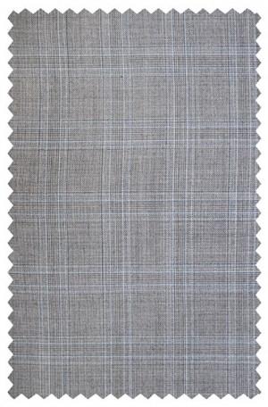 Michael Kors Gray Pattern Tailored Fit Suit #K2Z1124