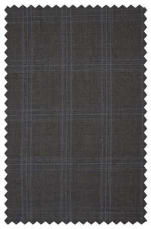 Michael Kors Brown Pattern Tailored Fit Suit K2Z1200