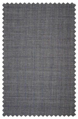 Michael Kors Gray Pattern Tailored Fit Suit #K2Z1226
