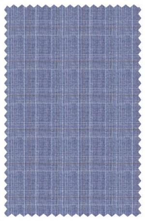 Michael Kors Blue Pattern Tailored Fit Suit K2Z1246