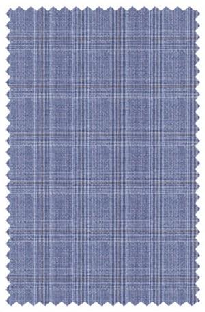 Michael Kors Blue Pattern Tailored Fit Suit #K2Z1246