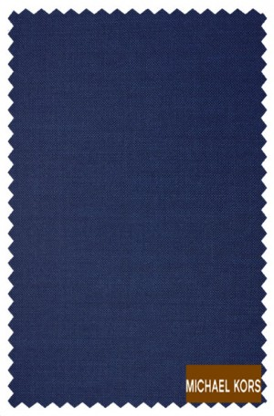 Michael Kors Blue Solid Color Tailored Fit Suit #K2Z2080