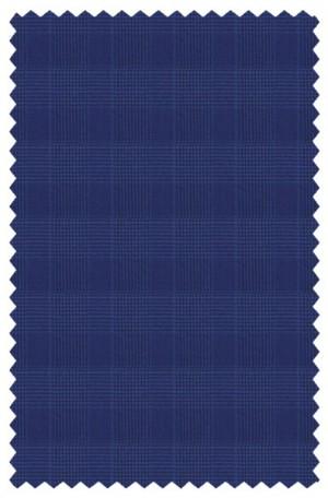 Michael Kors Blue Pattern Tailored Fit Suit #K2Z2147