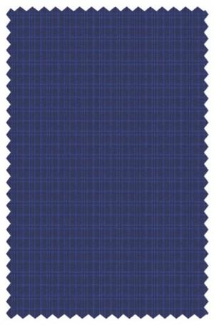 Michael Kors Blue Check Tailored Fit Suit #K2Z2148