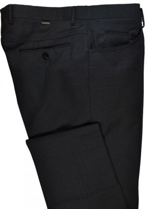 Pal Zileri Black Dress Slacks #L3110X1-21001-20