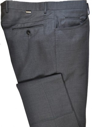 Pal Zileri Medium Gray Dress Slacks #L3110X1-21001-26