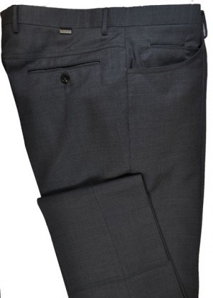 Pal Zileri Charcoal Dress Slacks #L3110X1-21001-31