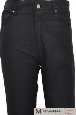 Marcello Sport Black Jeans #LP60-BLK