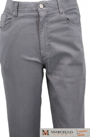 Marcello Sport Gray Jeans #LP60-GRY