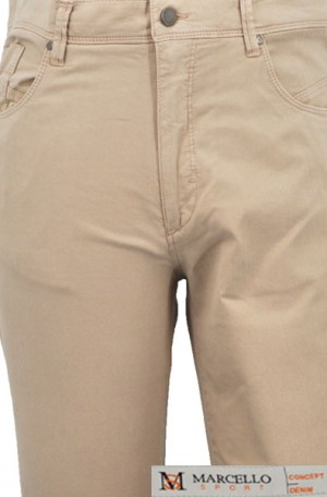 Marcello Sport Tan Jeans #LP60-TAN