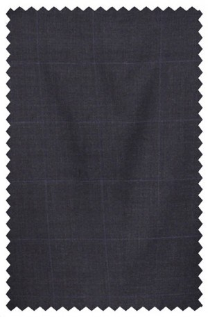 LAUREN Navy Blue Plaid SLACKS MMX0078