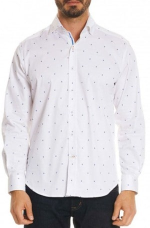 "Robert Graham ""Mack"" Tailored Fit Shirt #MS181125TF"