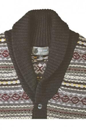Loft 604 Pattern Cardigan #OC711A-CHAR