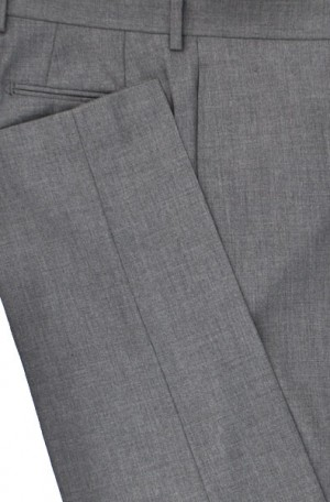 Calvin Klein Gray Slim Fit Pants