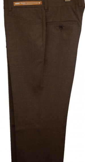 Jack Victor Brown 'Casual Dress' Slacks #R300115
