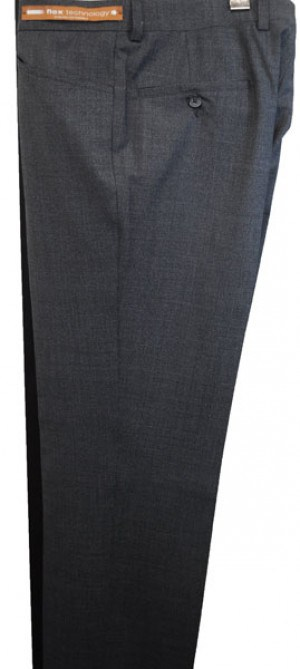 Jack Victor Charcoal 'Casual Dress' Slacks #R300145