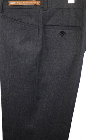 Jack Victor Charcoal 'Casual Dress' Slacks #R300602