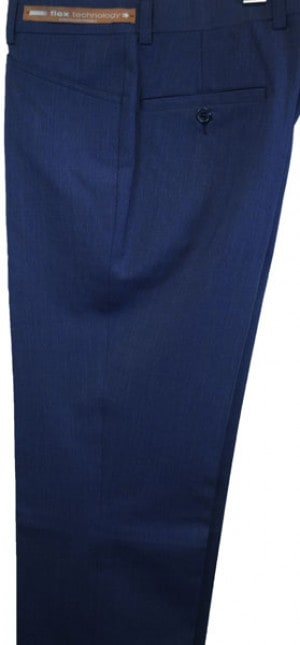Jack Victor Blue 'Casual Dress' Slacks #R302620