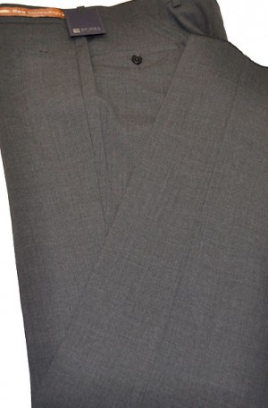 Jack Victor Riviera Charcoal Slim Fit Slacks #R302645