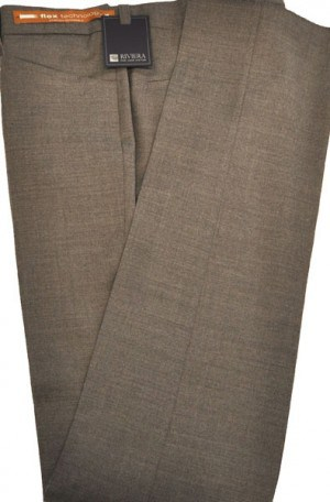 Jack Victor Riviera Taupe Slim Fit Casual Dress Slacks #R303515
