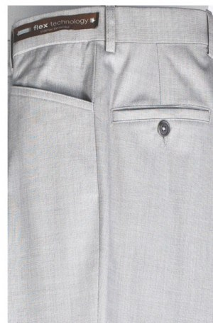 Jack Victor Light Gray Casual Dress Slacks #R305190