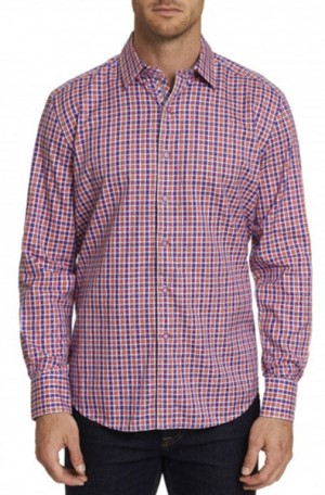Robert Graham 'Gainsford' Classic Fit Shirt #RS191001CF-BERRY