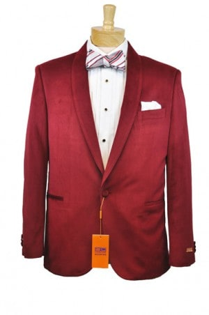 Steven Land Red Dinner Jacket #SL77-330T