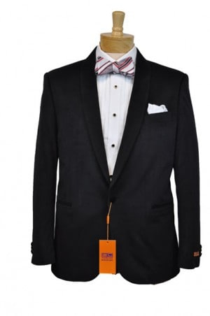 Steven Land Black Velvet Dinner Jacket #SL77-333