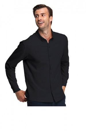 "Swet Tailor Black ""Mindfull"" Tailored Fit Shirt ST6000-BLK"