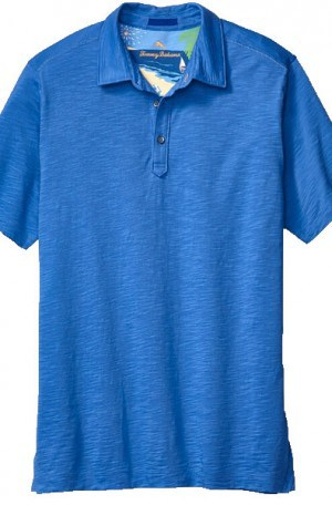 Tommy Bahama Medium Blue Pima Cotton Polo #T210992-11611