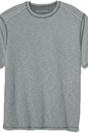 Tommy Bahama Gray Flip Tide Reversible Tee Shirt #T218029-12730