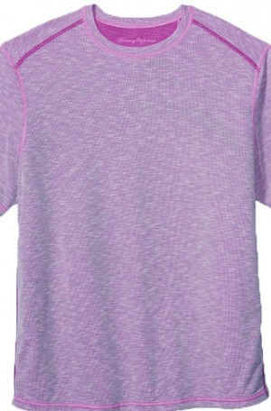 Tommy Bahama Lavender Flip Tide Reversible Tee Shirt #T218029-12755