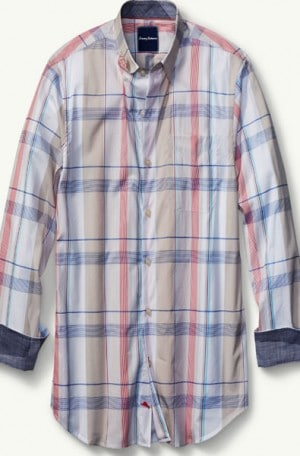 Tommy Bahama Mixed Plaid Shirt #T316458-4311