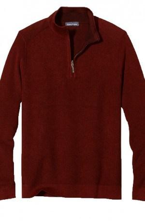 Tommy Bahama Burgundy Las Palmas Reversible Pullover #T417554-15474
