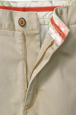 Tommy Bahama Khaki Cotton Shorts #T815546-005