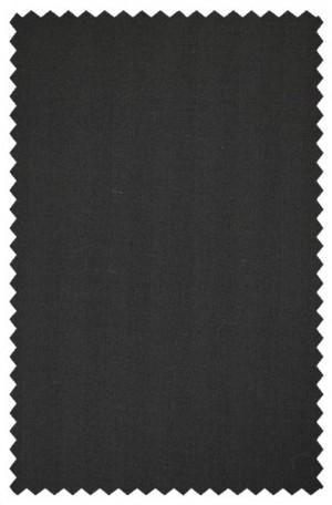 Tiglio Black Herringbone Tailored Fit Vested Suit #TS4035