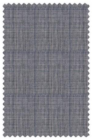 Tiglio Gray Windowpane Tailored Fit Suit #V813-499-1