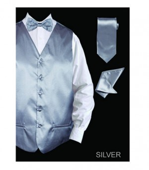 Formal Tuxedo Gray Vest Set #VS801-GRY