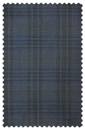 Varvatos Blue Pattern Slim Fit Sportcoat #VTW0071