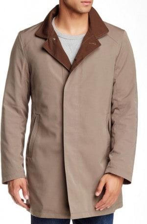 Sanyo Taupe 3-Season Coat #Z1A-11-015-45
