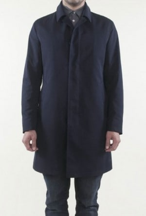 Sanyo Navy Trench Coat #Z1A-12-015-29
