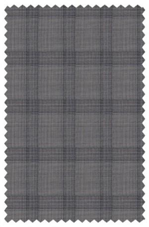 Austin Reed Gray Windowpane Suit #ZBA0121
