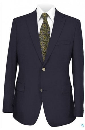 Hickey Freeman Pure Wool Blazer Package