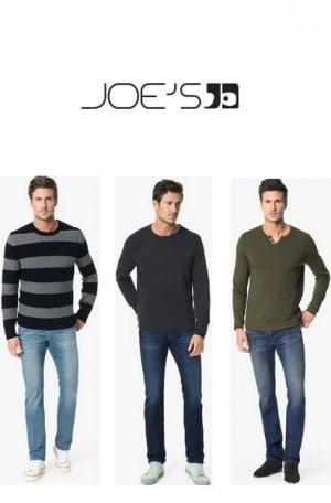 Joe's Medium Blue Denim Straight & Narrow Jeans #TVHBDL8225